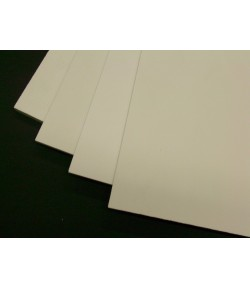 Komatex bianco 2mm 50cm x 100cm