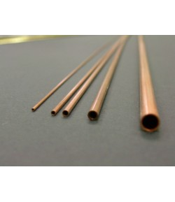 Rame Tubo Forato Diametro 1mm Lunghezza 50cm